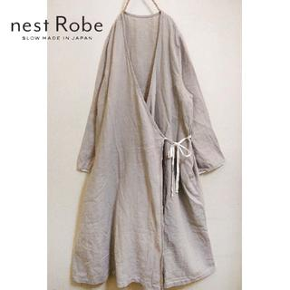 nest Robe - nest Robe✨ネストローブ ロング リネンカシュクール 羽織り ワンピース