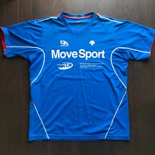 DESCENTE - Move Sport Tシャツ デサント サイズO ブルー