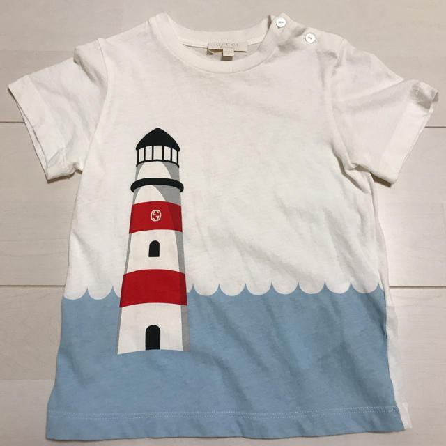 Gucci - GUCCI Tシャツ 80㎝ 12-18m アルマーニジュニア Burberryの通販