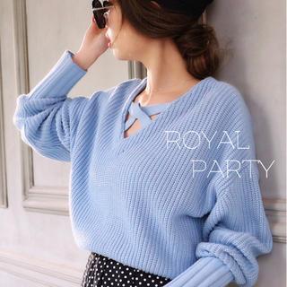 ROYAL PARTY - ROYALPARTY♡クロスネック スナイデル リエンダ Rady エイミー