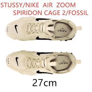 NIKE - STUSSY / NIKE AIR ZOOM SPIRIDON CAGE 2