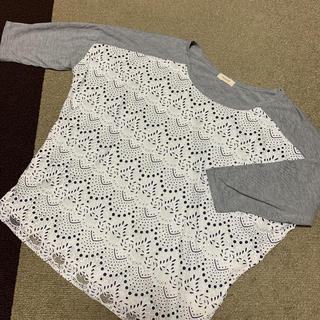ハッシュアッシュ(HusHush)のハッシュアッシュ トップス   7分丈袖 Tシャツ(Tシャツ(長袖/七分))