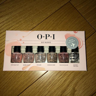 OPI - OPI マニキュア ミニ6本セット