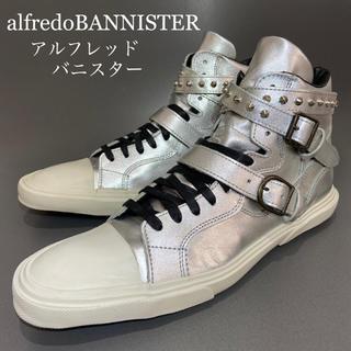 alfredoBANNISTER - ◎定価約2.7万円【alfredoBANNISTER】スタッズ ブーツ メンズ