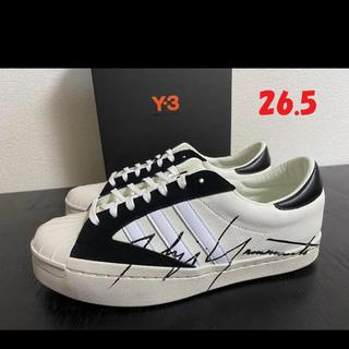 Y-3 - SS20【新品】Y-3 YHOJI STAR ロゴスニーカー 26.5