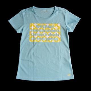ニューバランス(New Balance)のニューバランス New Balance スポーツウェア 半袖 Tシャツ 水色(Tシャツ(半袖/袖なし))