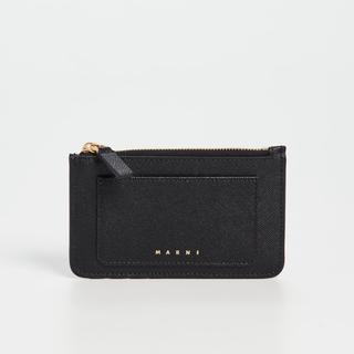 マルニ(Marni)の【新品未使用】Marni レザーカードホルダー ミニ財布 カードケース(コインケース)