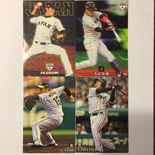 ハンシンタイガース(阪神タイガース)のプロ野球チップス 阪神タイガース 4枚(スポーツ選手)