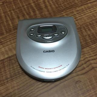 カシオ(CASIO)のCASIO CDプレーヤー(ポータブルプレーヤー)