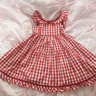 Shirley Temple - シャーリーテンプル サンドレス ワンピース 140