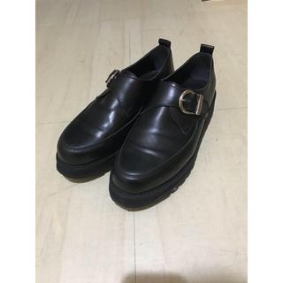 ハレ(HARE)のHARE ハレ 革靴 シャークソールモンクストラップシューズ(ドレス/ビジネス)