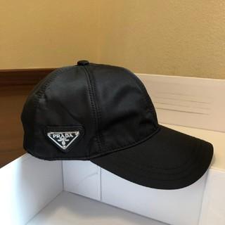 PRADA - PRADA 19SS 三角ロゴ ベイスボール キャップ_BLACK