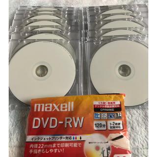 マクセル(maxell)の★モカ様専用★DVD  RW 16枚(その他)