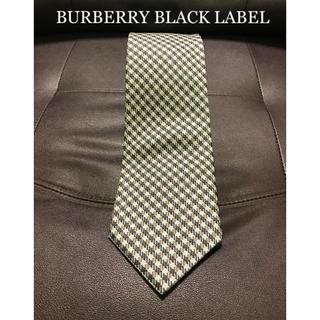 BURBERRY BLACK LABEL - 【美品】BURBERRY BLACK LABEL ネクタイ