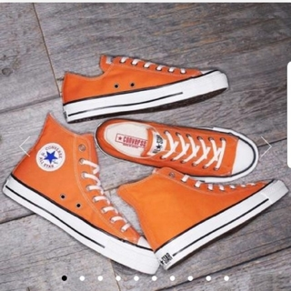 CONVERSE - 新品!CONVERSE ALL STAR MADE IN JAPAN オレンジ色