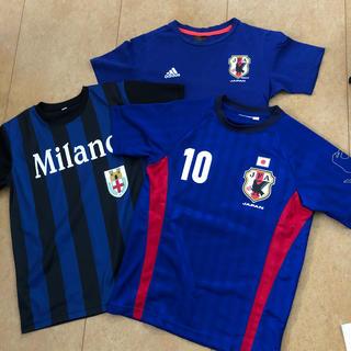 adidas - Tシャツ3枚セット140 サッカーレプリカ日本代表