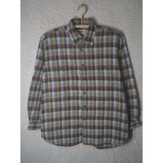 マックレガー(McGREGOR)の5937 McGREGOR ビンテージ 長袖 チェック シャツ ネルシャツ(シャツ)