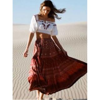 ルームサンマルロクコンテンポラリー(room306 CONTEMPORARY)のspell tuula gypciana maxi skirt blouse (ロングスカート)