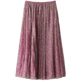 Drawer - BLAMINK  ブラミンク プリーツシルクスカート
