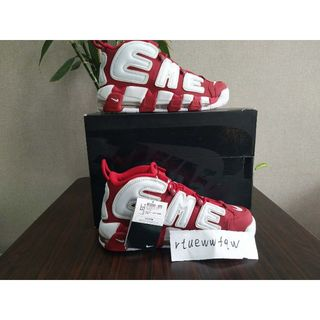Supreme -   AIR MORE UPTEMPO 28.5cm