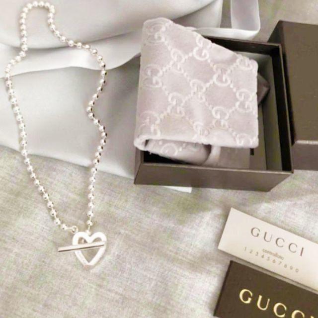 メンズ 時計 シンプル 偽物 、 Gucci - ☆新品☆未使用☆Gucci グッチ トグルハートボールチェーンネックレスの通販