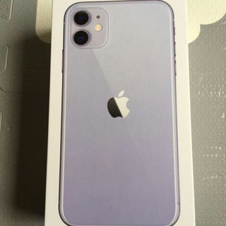 iPhone - iPhone 11 パープル 64 GB