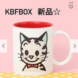 ケービーエフ(KBF)のオサムグッズ マグカップ ネコ(キャラクターグッズ)