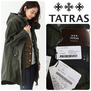 TATRAS - 定価132000 国内正規カード付 新品 タトラス 新型 3way モッズコート