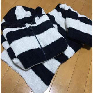 MUJI (無印良品) - 定価1万円 無印 ルームウェア 無印良品 モールニット パーカー  パジャマ