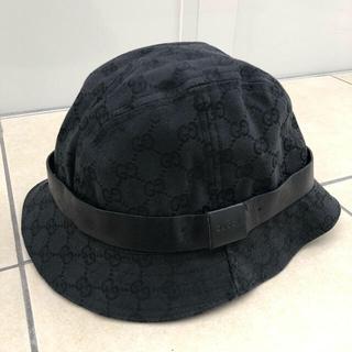 Gucci - GUCCI ハット ブラック