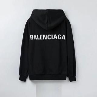 Balenciaga - パーカー スウェット トレーナー メンズ レディース  黒