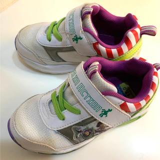 Disney - キッズスニーカー 17cm ディズニートイ・ストーリー 光る靴
