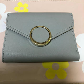 三つ折り財布♡グレー(財布)
