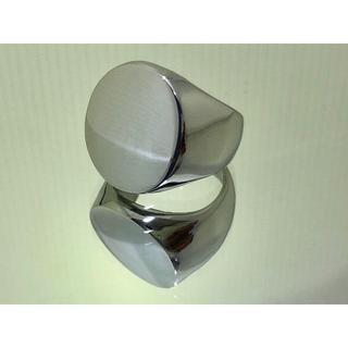 鏡面仕上げSTAINLESS STEEL 印台 ランキング メンズ リング