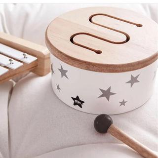 BorneLund - 新品 Kids Concept キッズコンセプト 木製 ドラム