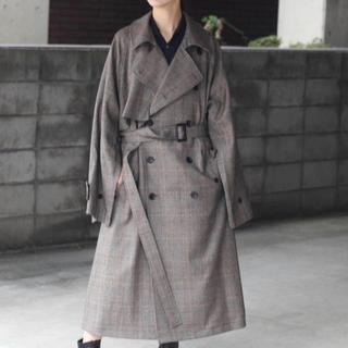 stein  19aw  oversized overlap coat