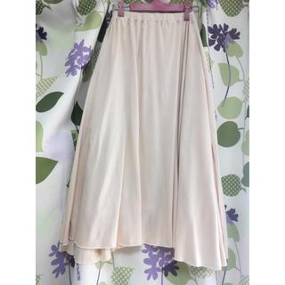 WEGO - ウィゴー ベージュの春夏ロングスカート