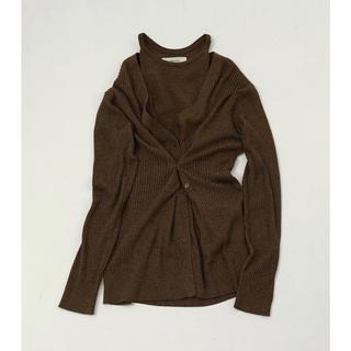 TODAYFUL - layered knit cardigan♡