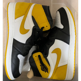 ナイキ(NIKE)のair jordan 1 yellow ochre(スニーカー)