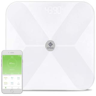 4.4 体重計 体組成計 Eteki 体脂肪計 Bluetooth対応 スマホ