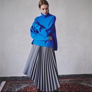LE CIEL BLEU - le ciel blue 19A/W アシメントリープリーツスカート