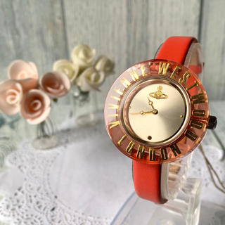 Vivienne Westwood - 【未使用品】vivienne ヴィヴィアン 腕時計 オーブ モチーフ レッド