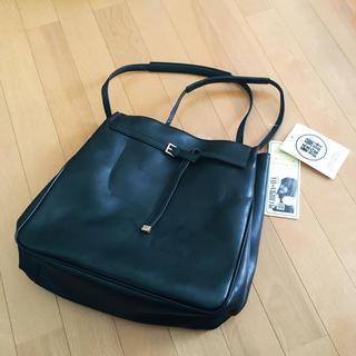 しまむら - 【難ありタグ付き】プチプラのあや バッグインバッグ付き トートバッグ 中黒
