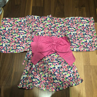 Branshes - ブランシェス 花柄浴衣