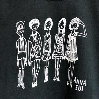 ANNA SUI - ★ 【新品】タグ付き未使用品 ANNA SUI アナスイ プリント Tシャツ