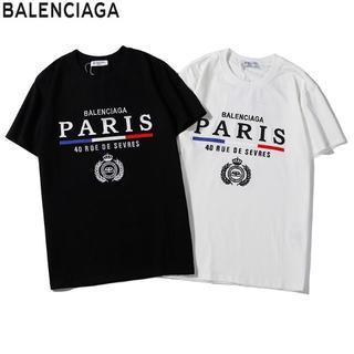 Balenciaga - ✨BALENCIAGA★人気刺繍半袖Tシャツ男女兼用★2枚千円引き送料込み#05