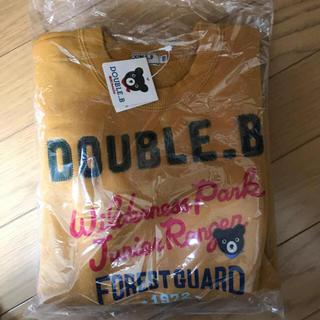 ダブルビー(DOUBLE.B)の新品 ダブルB カモフラージュロゴトレーナー110(Tシャツ/カットソー)