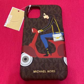 Michael Kors - マイケルコース スマホケースiPhone11 ジェットセットガールズシグネチャー