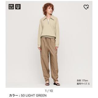 ユニクロ(UNIQLO)のスウェットハーフジップシャツ UNIQLO U ユニクロユー(トレーナー/スウェット)