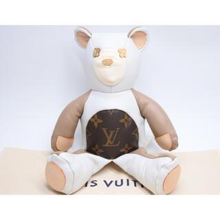 ルイヴィトン(LOUIS VUITTON)のルイヴィトン 人形 ドゥドゥ ルイ テディベア GI0142 美品(ぬいぐるみ/人形)